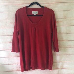 Avenue Design Red Sweater Size 18/20